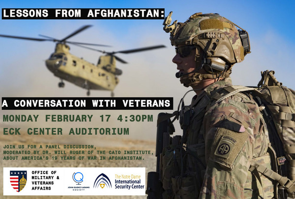 Afghanistan Panel Jqa Event Poster