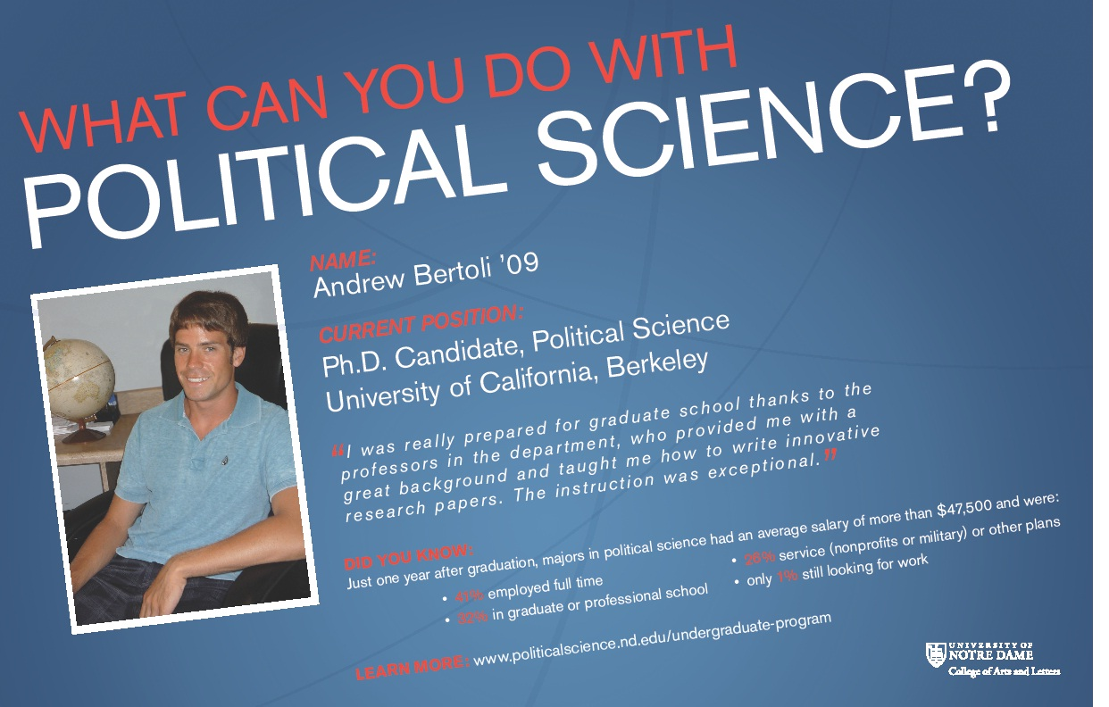 undergraduate program department of political science bertoli